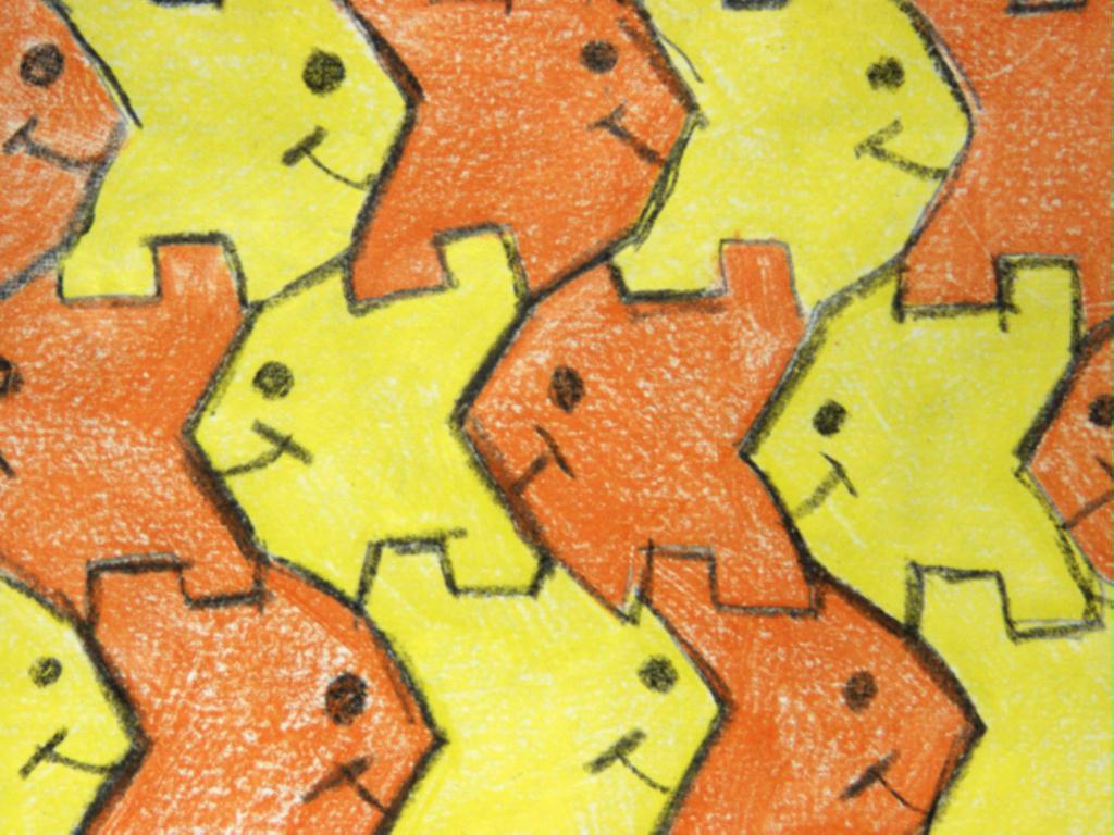 Tessellation Art Worksheets | Free Printable Math Worksheets - Mibb ...